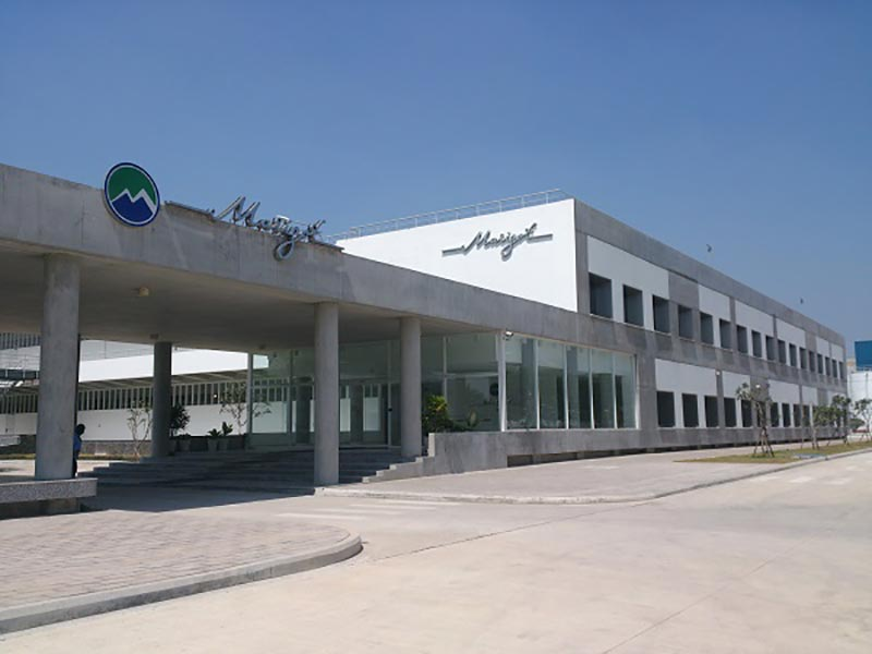Nhà máy Marigot do công ty Coteccons xây dựng