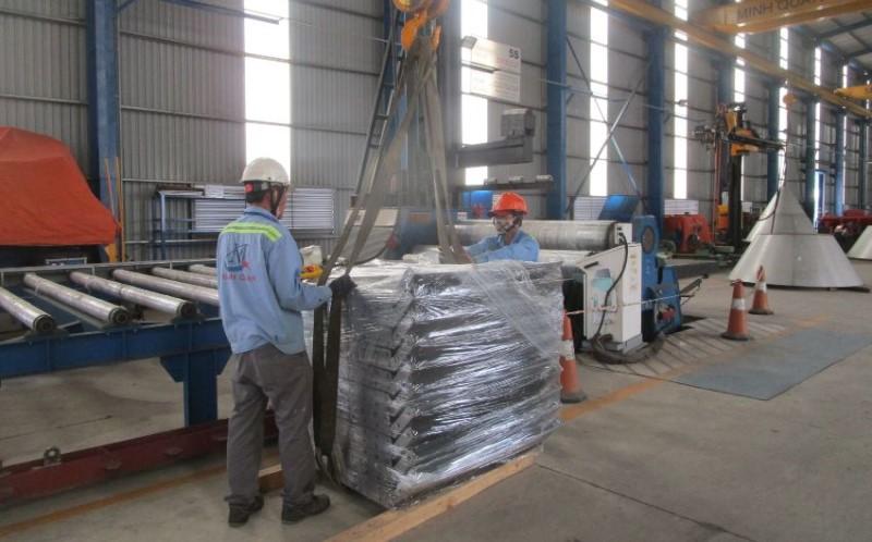 Xưởng sản xuất và gia công công ty cơ khí Minh Quân