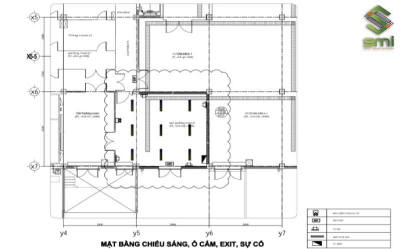 Thiết kế cải tạo hệ thống điện nhà máy KCN Thăng Long II