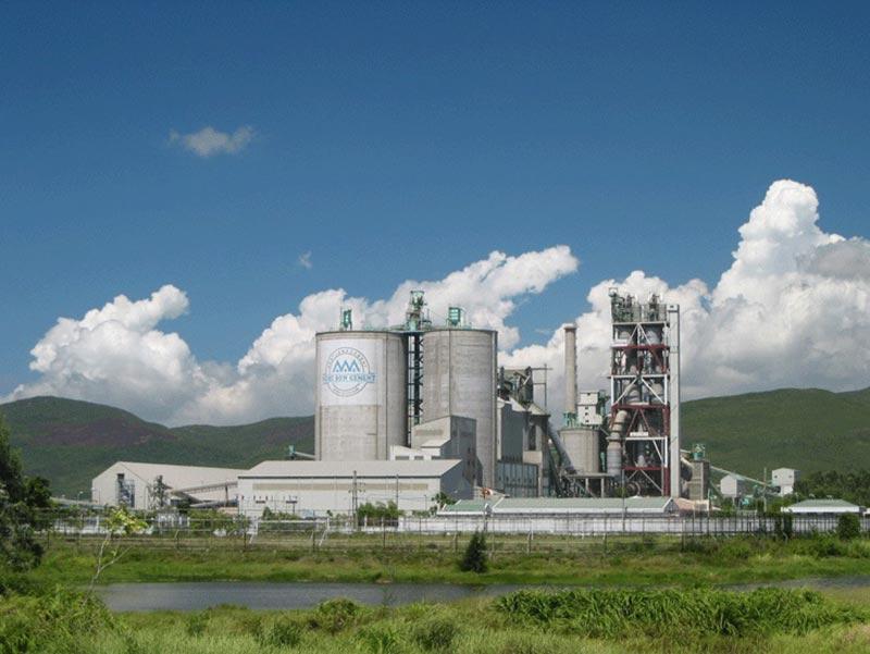 Nhà máy Xi măng Nghi Sơn - Dự án của công ty xây dựng công nghiệp Han Corp