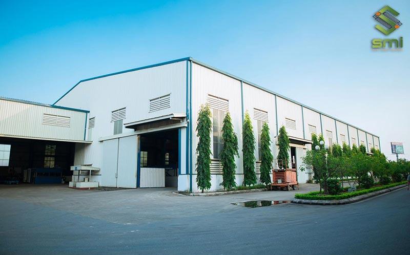 Với quy mô 400m2 nhà xưởng nhỏ có thể bao gồm nhiều khu vực sản xuất hơn