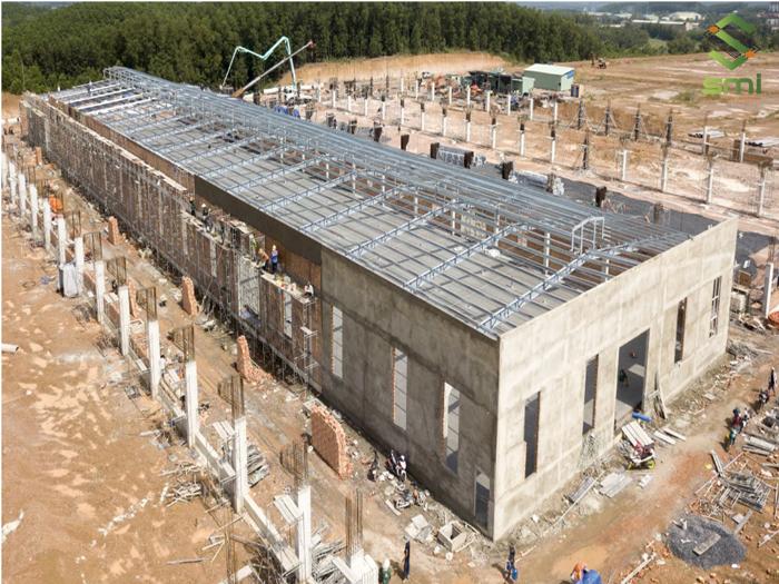 Nhà xưởng bê tông cốt thép cần thời gian thi công dài hơn