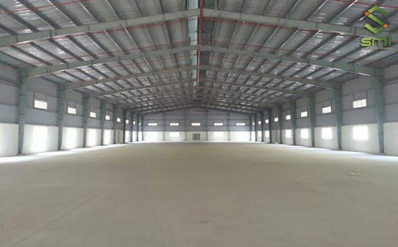 Mẫu nhà xưởng cỡ lớn có diện tích 3000m2 - 10.000m2