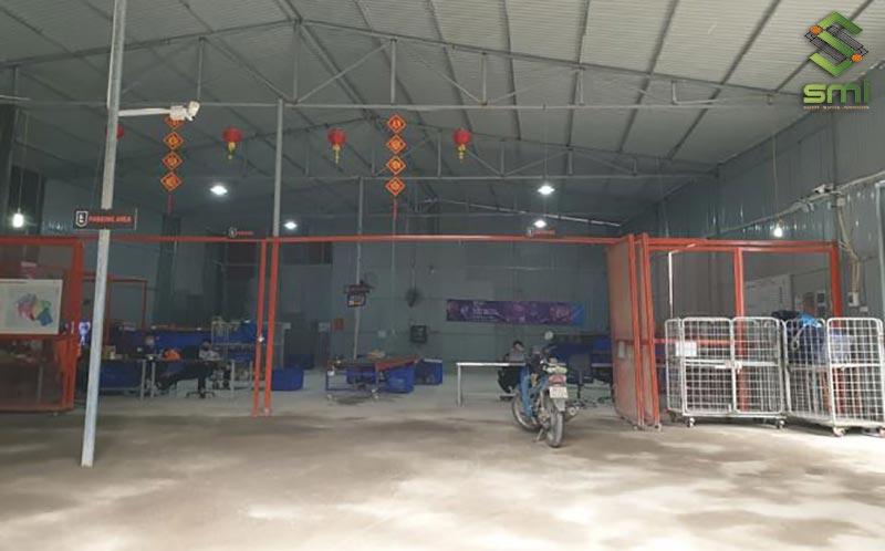 Nhà xưởng 300m2 vừa là nơi phục vụ sản xuất, chứa đồ, nhà xe quy mô nhỏ