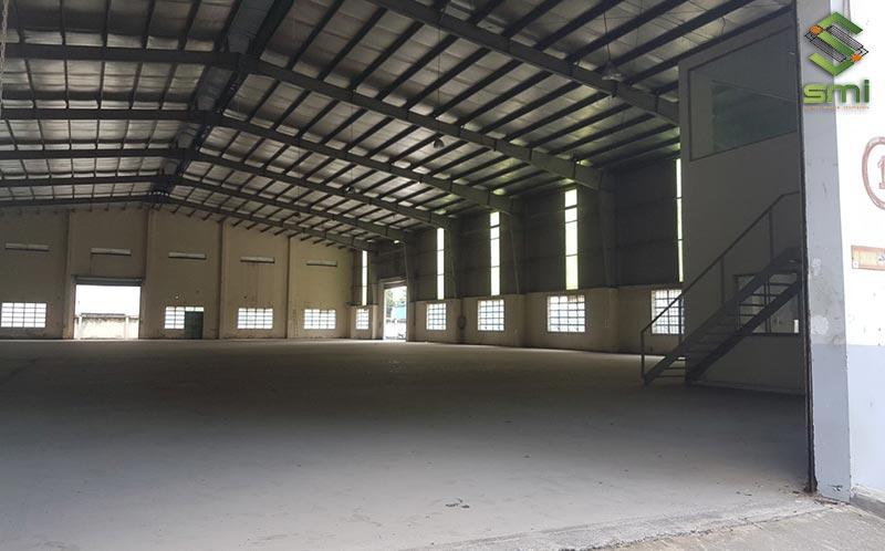 Nhà xưởng nhỏ với diện tích 500m2 vừa đảm bảo mức độ rộng rãi, vừa tiết kiệm chi phí thi công
