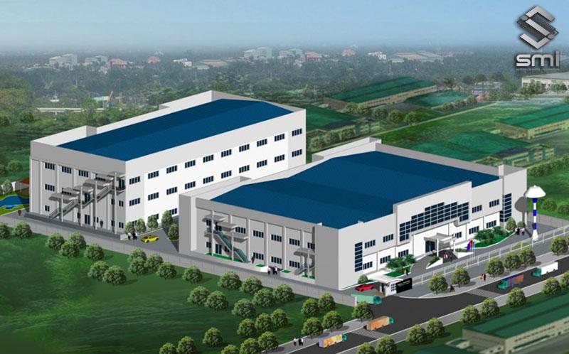 Mô hình nhà xưởng hiện đại kết hợp nơi sản xuất và văn phòng trên cùng 1 mặt bằng giúp doanh nghiệp tối ưu chi phí thuê mặt bằng và quản lý