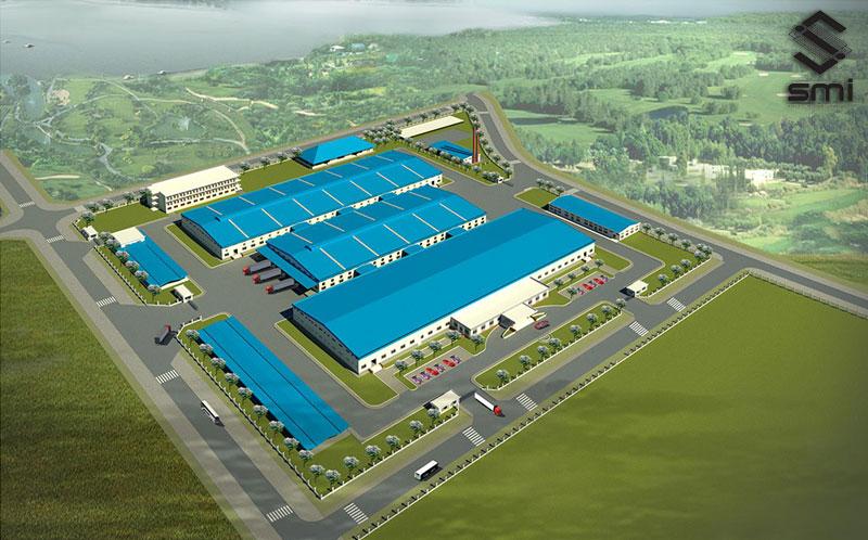 Các nhà xưởng trong 1 KCN được thiết kế liền kề giúp quá trình sản xuất, lưu kho và giao hàng thuận tiện. Giao thông nội bộ xuyên suốt các khu vực giúp quá trình di chuyển dễ dàng