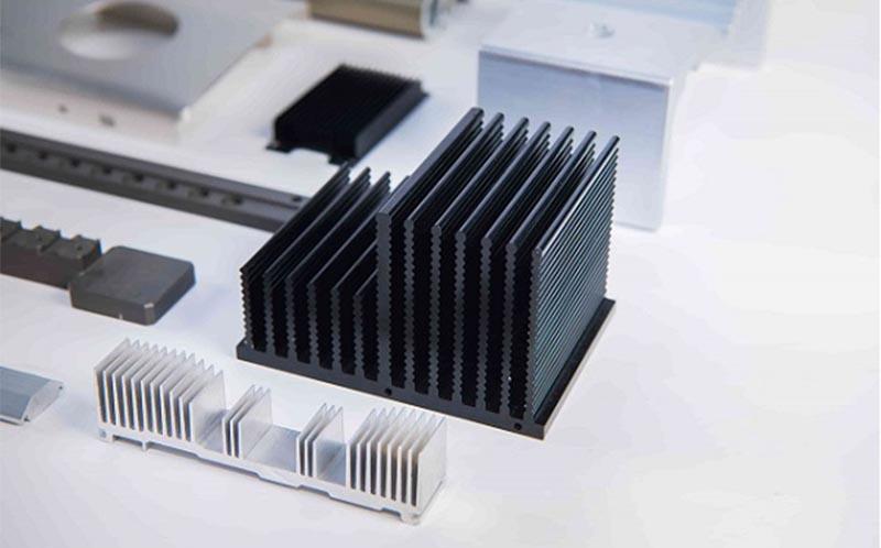 Sản phẩm nhôm tản nhiệt của công ty gia công cơ khí KIMSEN
