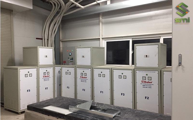 Ổn áp giúp đảm bảo sự ổn định cho dòng điện công nghiệp
