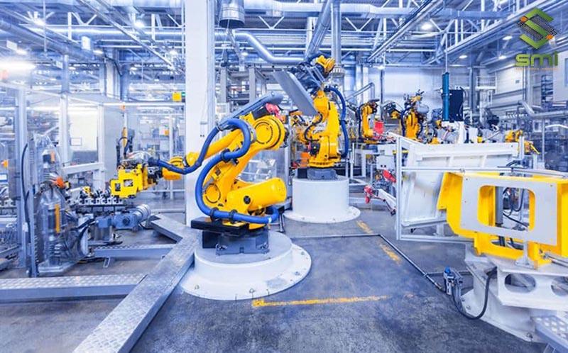 Nhà xưởng rộng rãi hỗ trợ quá trình hợp tác gia công cơ khí
