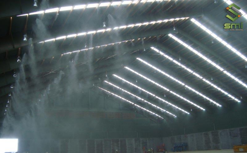 Hệ thống phun sương diện rộng