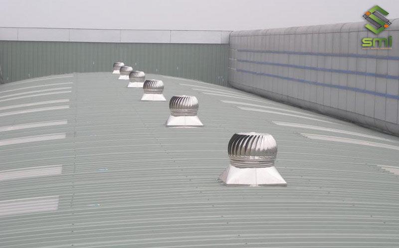 Cách thiết bị thông gió mái đều rất tiết kiệm điện năng và không quá ồn trong quá trình hoạt động