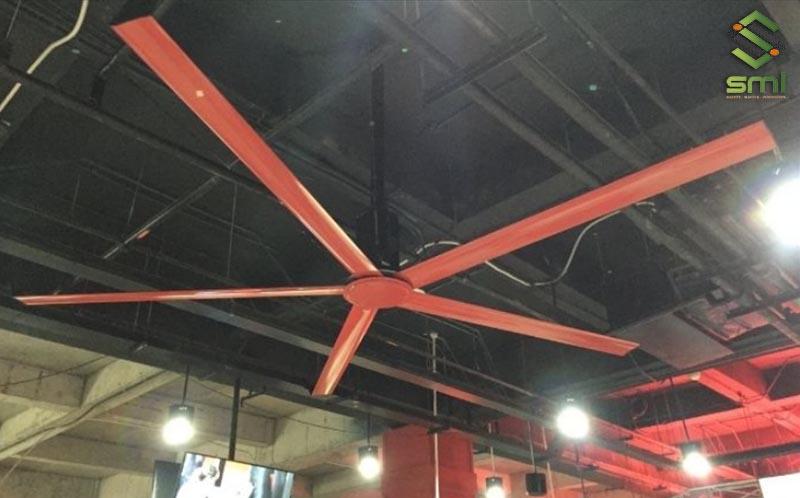 Cách làm mát nhà xưởng với quạt trần công nghiệp