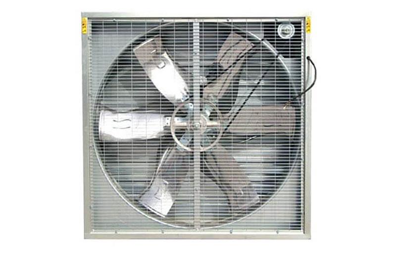 Quạt thông gió công nghiệp vuông có lưới giúp bảo vệ tốt linh kiện quạt bên trong, vừa tạo ra sự an toàn đối với con người