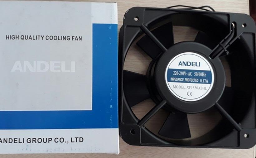 Quạt thông gió tủ điện công nghiệp Andeli