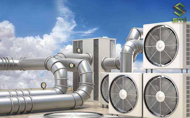 Thông gió công nghiệp có tốc độ và hiệu quả tốt hơn thông gió tự nhiên