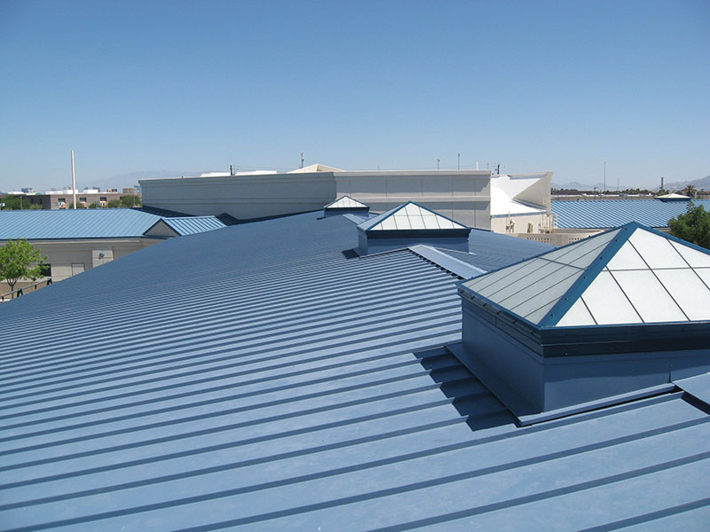 Mô hình lắp quạt thông gió mái nhà xưởng