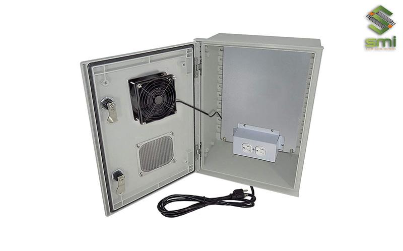Sử dụng quạt thông gió là cách giúp tủ điện hoạt động ổn định, hiệu quả và tránh hỏng hóc trong quá trình sử dụng