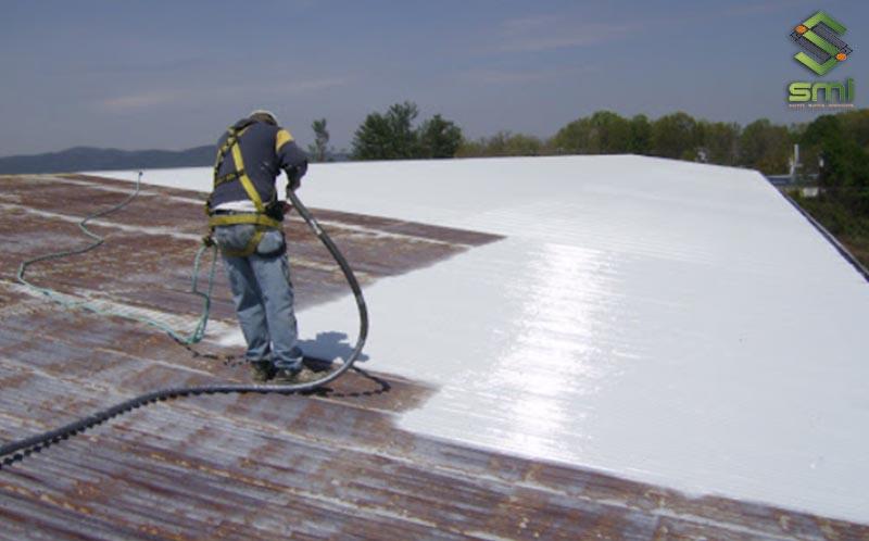 Sơn chống nóng giảm nhiệt mái nhà xưởng
