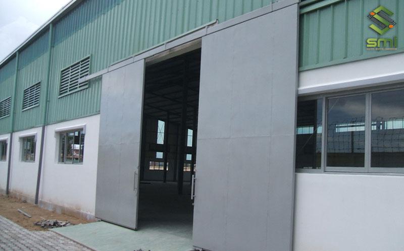 Lam gió giúp cho luồng gió lưu thông vào nhà xưởng liên tục
