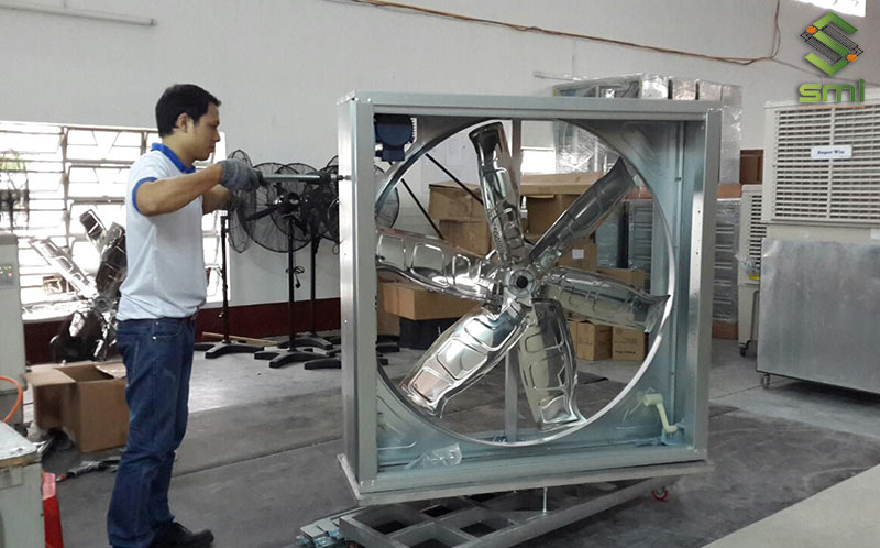Sửa chữa, bảo trì hệ thống thông gió nhà xưởng là điều mà doanh nghiệp cần làm thường xuyên