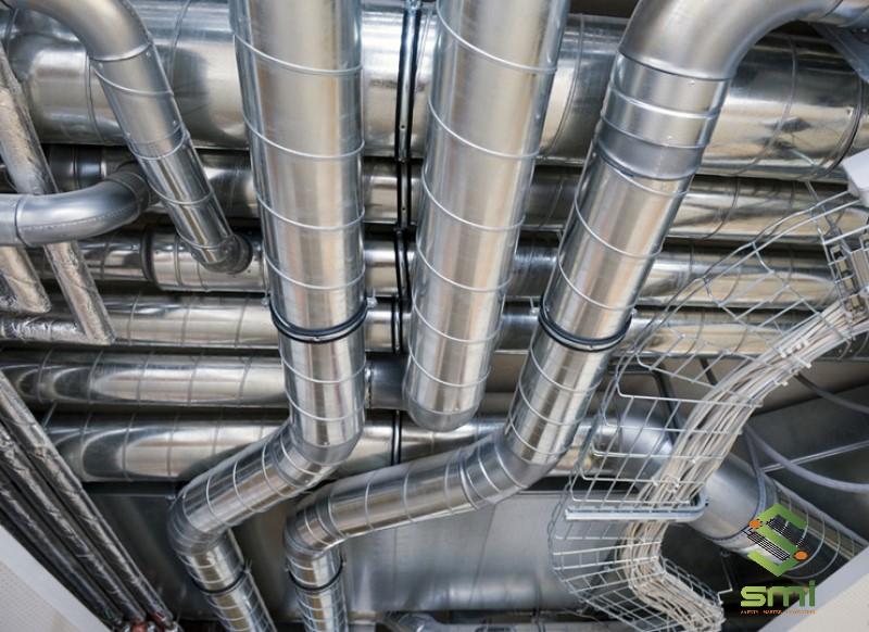 Sử dụng ống thông gió nhà xưởng để tăng tính chuyên nghiệp và mỹ quan