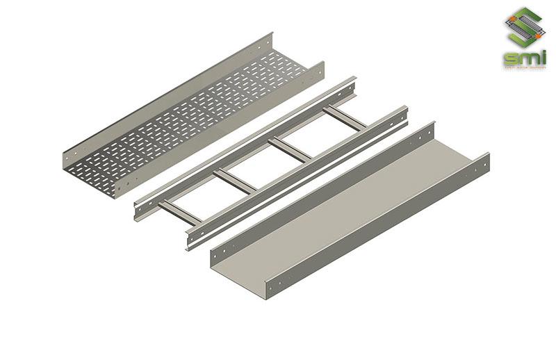 Các loại thang máng cáp điện được sử dụng khá rộng rãi trong các hệ thống điện công nghiệp, nhà xưởng