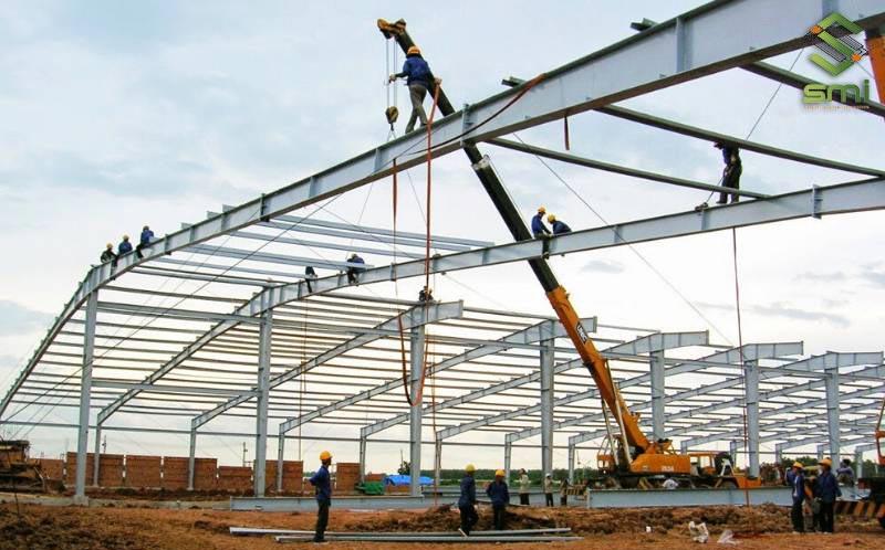 Thi công xây dựng nhà xưởng công trình nhà xưởng cần theo quy trình cụ thể