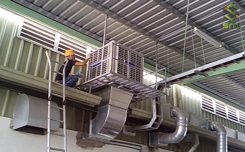 Thi công hệ thống kỹ thuật cho nhà xưởng