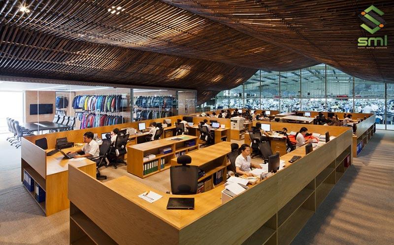 Xây dựng văn phòng trong nhà xưởng theo kiểu lắp ghép giúp giảm tối đa chi phí cho doanh nghiệp