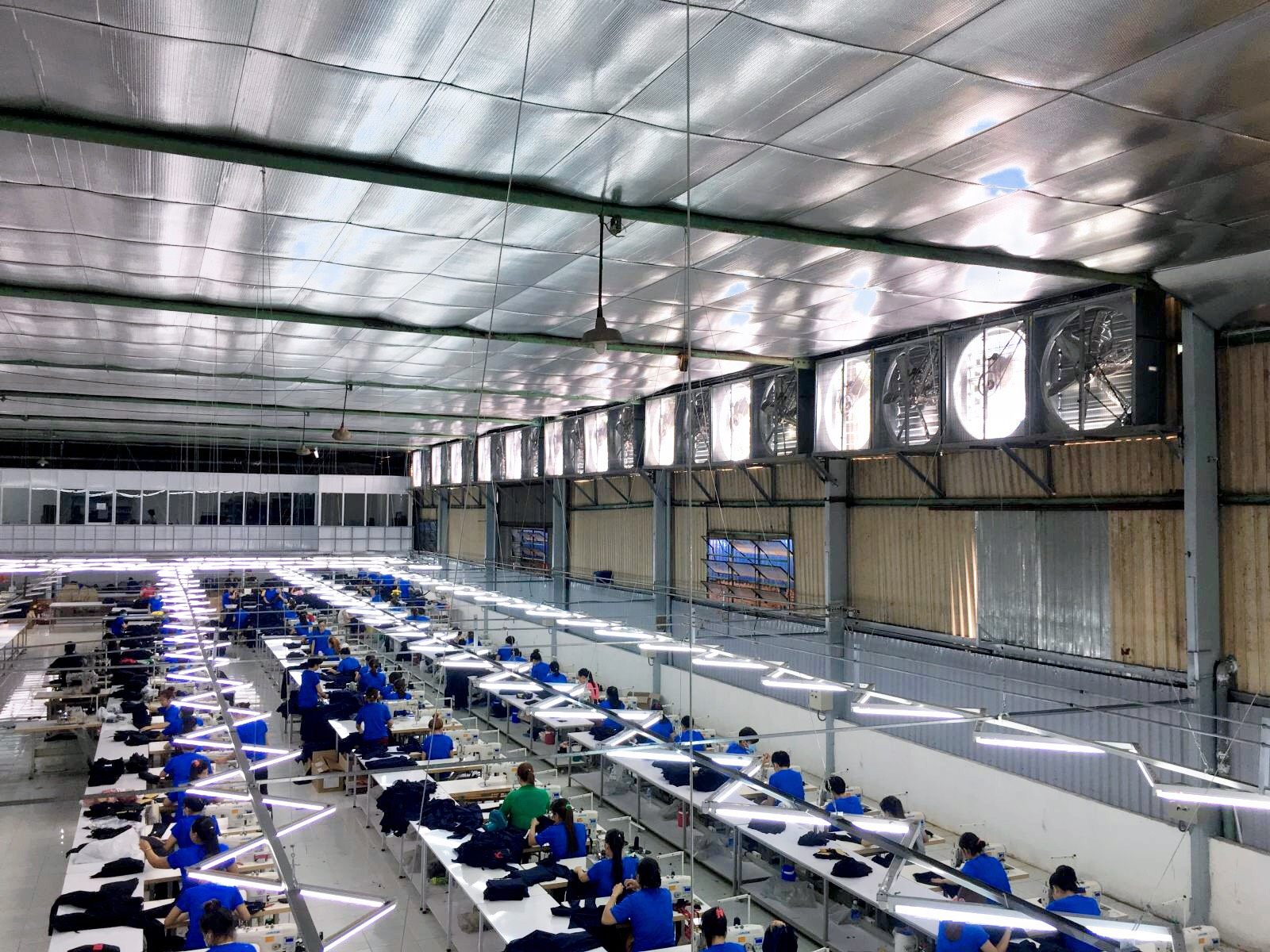 Thông gió công nghiệp là điều kiện cần thiết để nhà xưởng vận hành hiệu quả