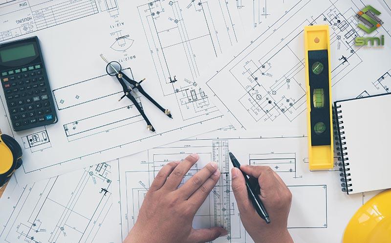 Bản vẽ thiết kế hệ thống điện nhà xưởng được thực hiện tỉ mỉ