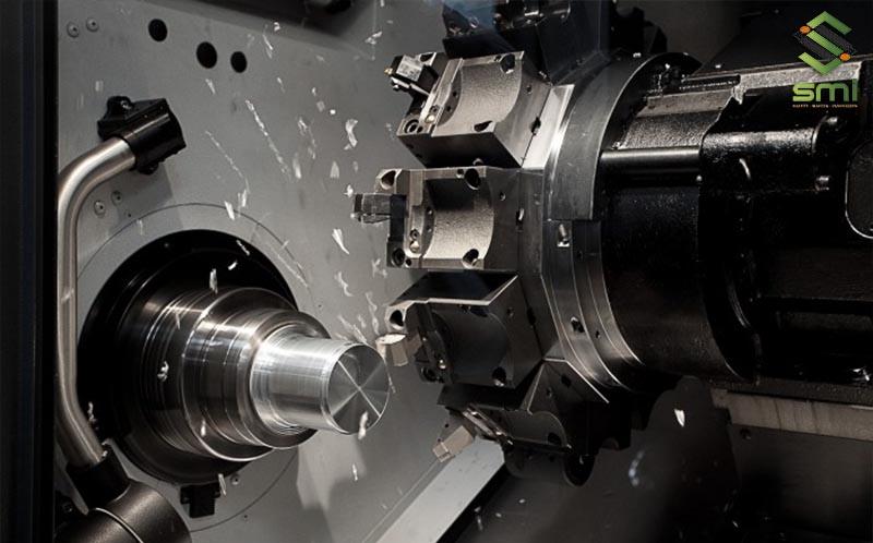 Gia công cơ khí tiện CNC giúp tạo ra các sản phẩm nhôm có tính đối xứng cao