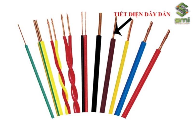 Xác định tiết diện dây dẫn khi tính dây dẫn điện nhà xưởng